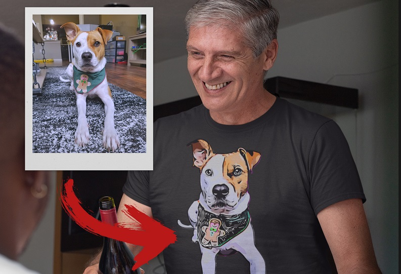 Wear Personalized Pet T-Shirts At Great Prices